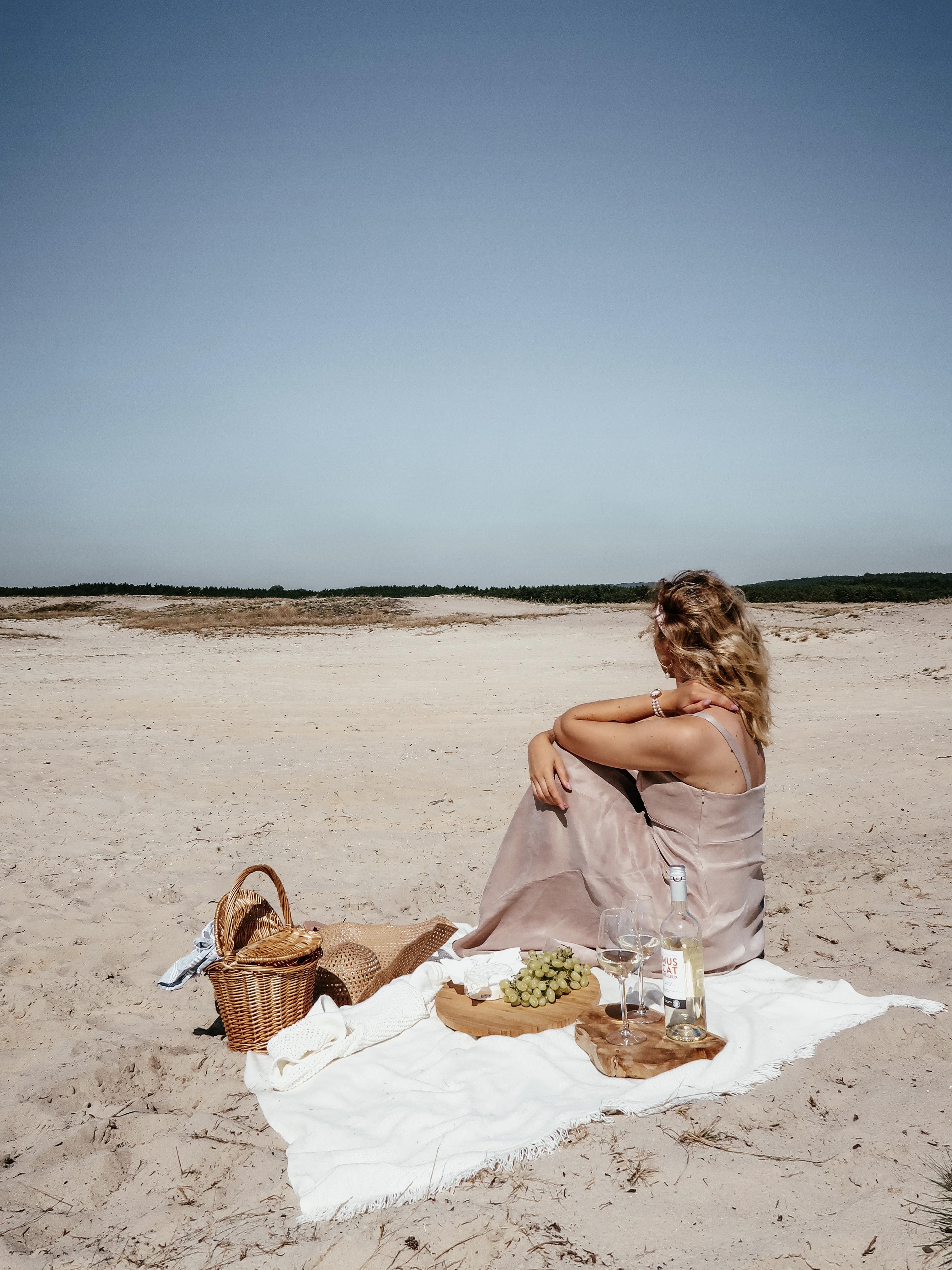 Piknik pośrodku pustyni // ootd