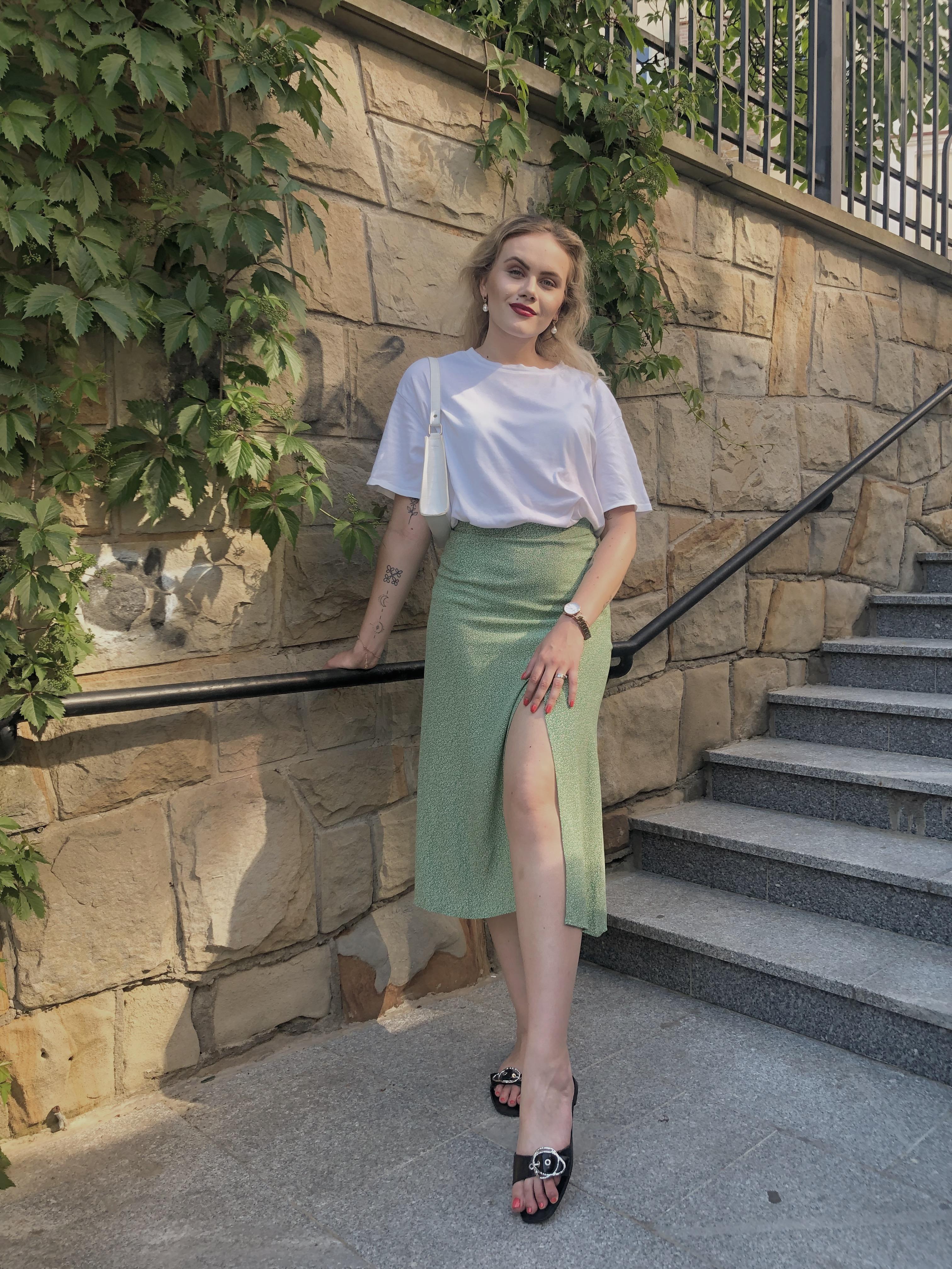 Zielona spódnica w roli głównej